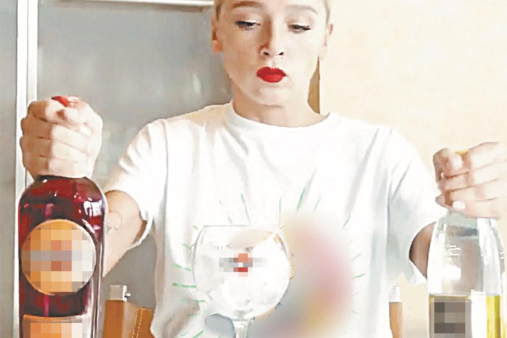 Настю Ивлееву оштрафуют за рекламу алкоголя