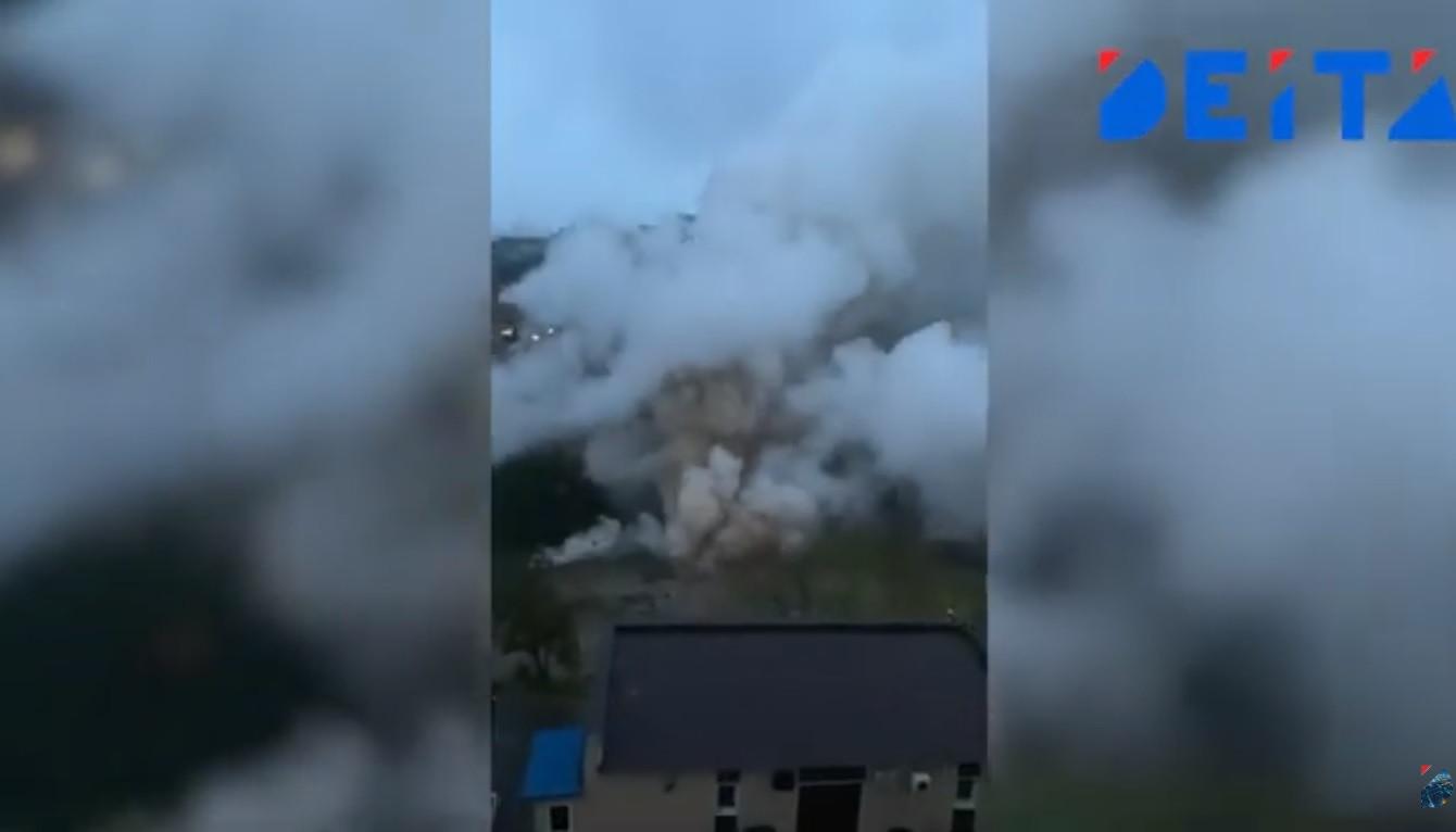 Вылетали стёкла и кирпичи: в Приморье произошла масштабная авария – видео