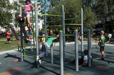 Жители села Кневичи в Приморье смогут заниматься на новой спортивной площадке