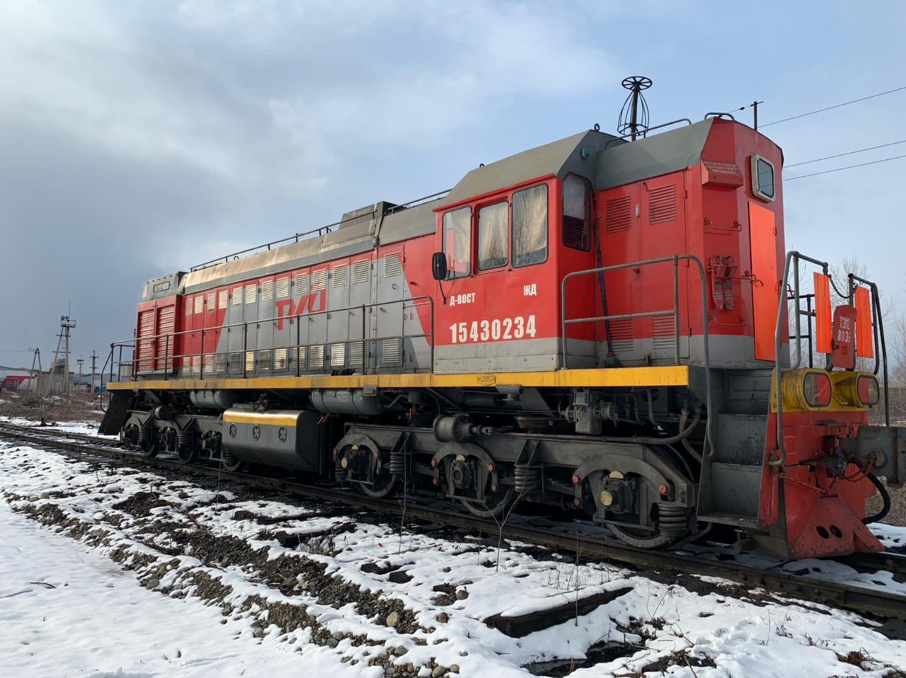 Поезд угнали на Дальнем Востоке, чтобы слить топливо