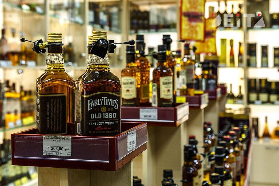 Крепкий алкоголь может исчезнуть из супермаркетов
