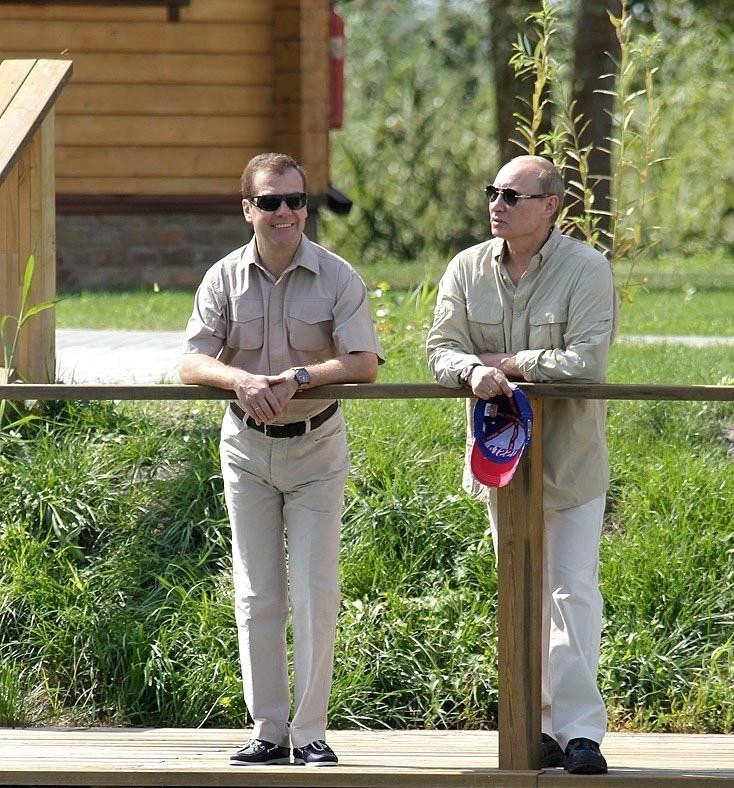 Путин и Медведев договорились о главном