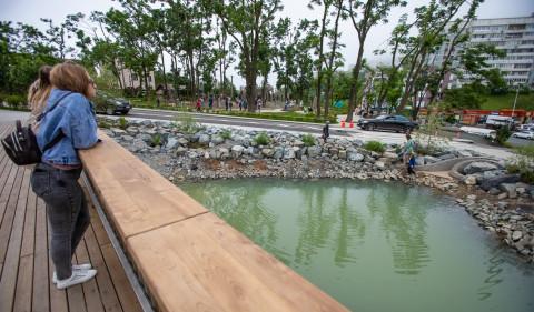 Новая остановка, светофор и места для парковки появятся возле Нагорного парка