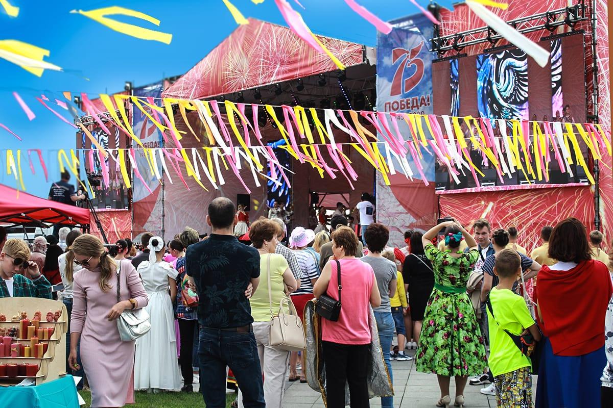 Фестиваль Дни мира на Тихом океане собрал артистов Дальнего Востока и Сибири