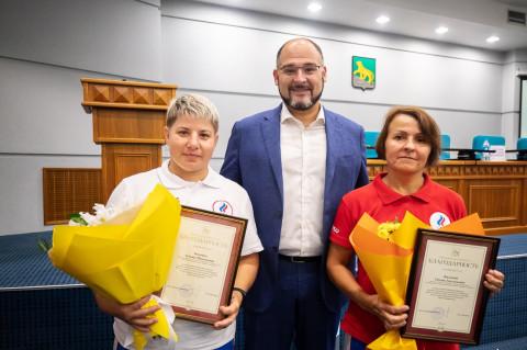 Глава Владивостока поздравил «амазонок» с успехом на чемпионате мира