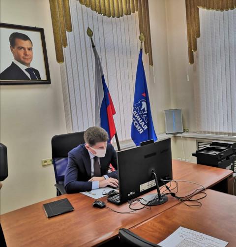 Олег Кожемяко провел прием граждан