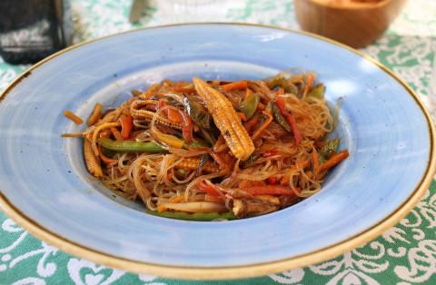 ТОП-3 блюда из рисовой лапши с мясом