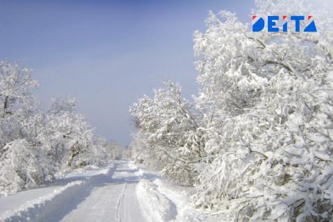 Мощный снегопад обещают синоптики