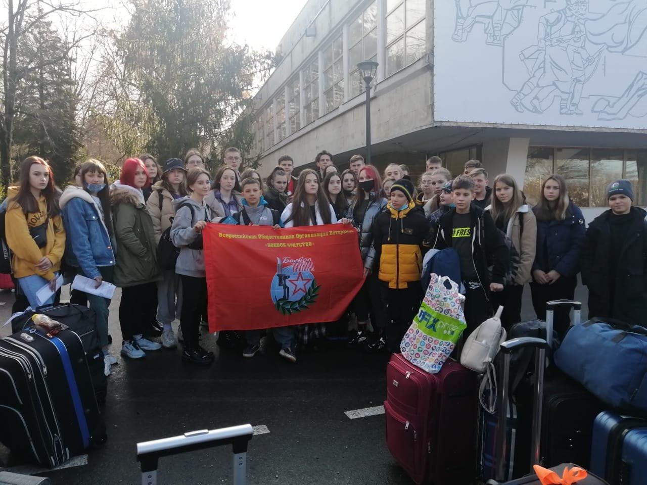 Приморские юные патриоты отправились в ВДЦ «Орлёнок»
