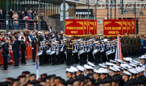 Владивосток празднует День Победы