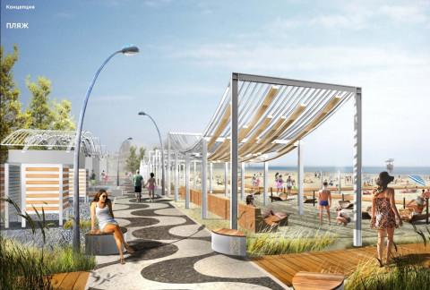 Жители Владивостока смогут отдыхать на благоустроенном пляже на Татарской уже в сентябре