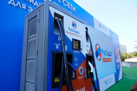 Зарядные станции РусГидро установили рекорд по отпуску электроэнергии