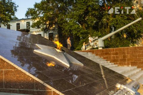 Студент осквернил памятник ВОВ в Приморье