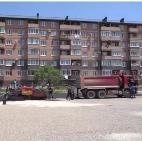 Муниципальную парковку строят в Уссурийске