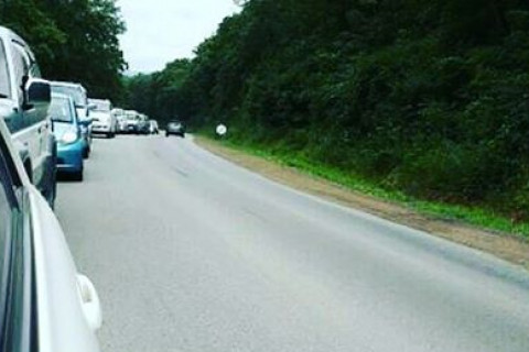 Транспортный коллапс усиливается в Приморье