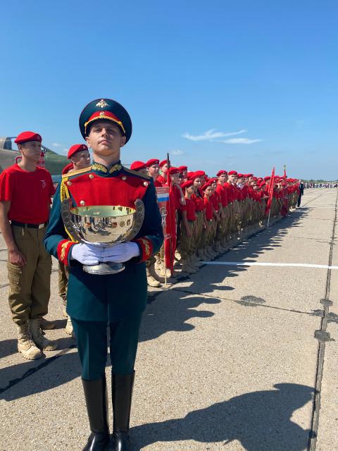 Авиационный полк получил Полковую чашу в Приморье