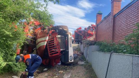 Пожарный автомобиль попал в смертельное ДТП