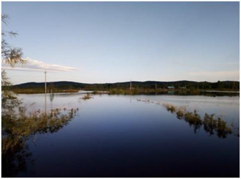 Хабаровские электрические сети продолжают контролировать паводковую обстановку