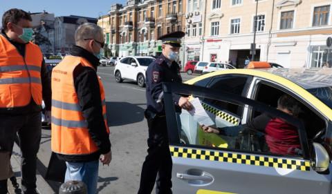 Облаву на таксистов устроили во Владивостоке