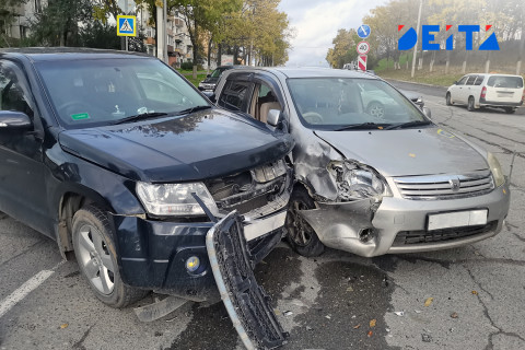 Массовая авария и пробки: дождь вызвал воскресный транспортный коллапс во Владивостоке
