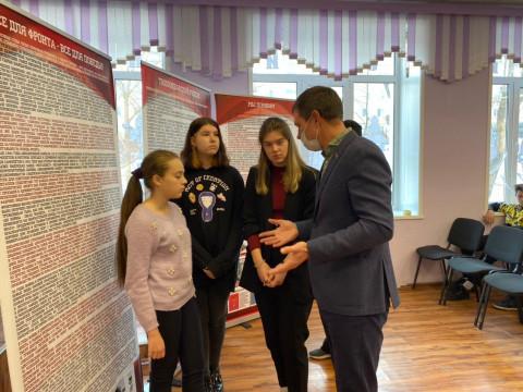 «Боевое братство» рассказало школьникам о героях Великой Отечественной войны