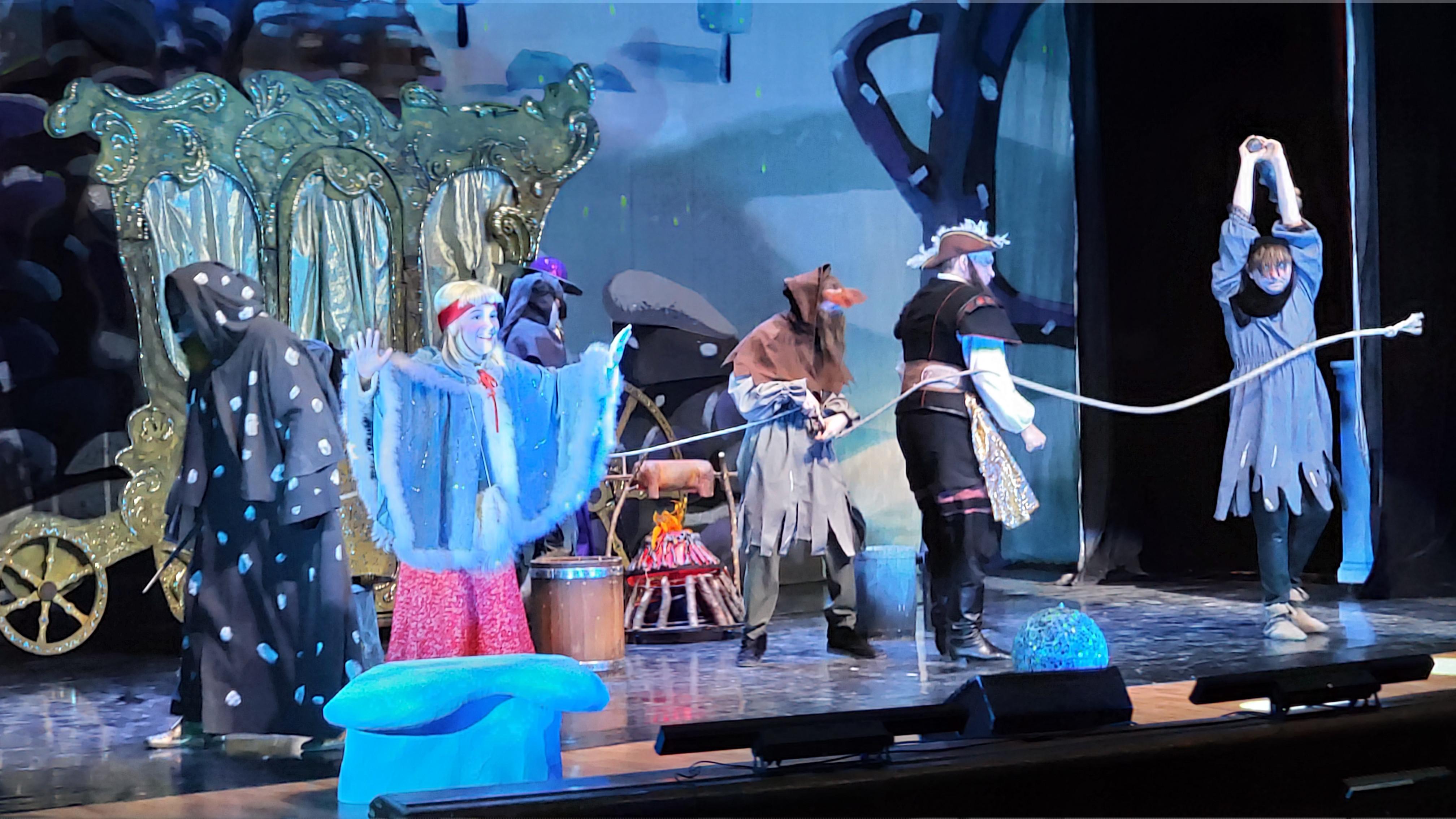 Сказка «Снежная королева» – в подарок детям Артема