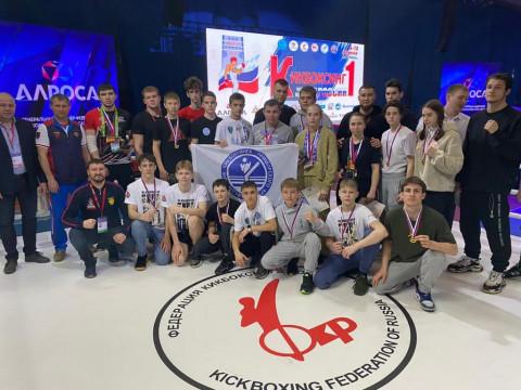 Приморские кикбоксеры завоевали 14 медалей на первенстве России