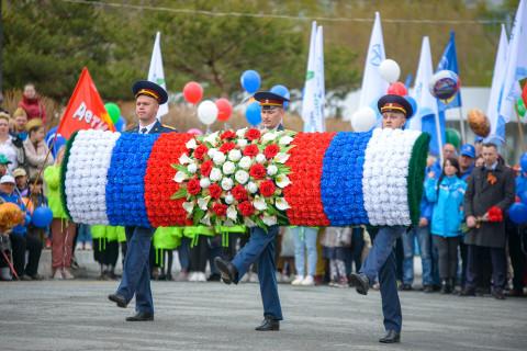Вместе с жителями Врангеля «Восточный Порт» отпраздновал День Победы
