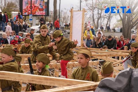 Полоса препятствий и красный флаг над Рейхстагом: как отмечали праздник Победы во Владивостоке