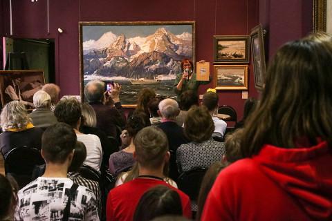 Золотая коллекция приморского искусства – вечер памяти Ивана Рыбачука в картинной галерее