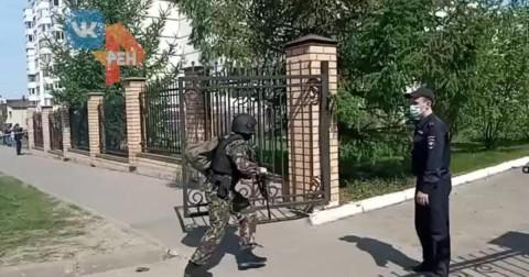 В казанской школе, где расстреляли детей, не было охраны