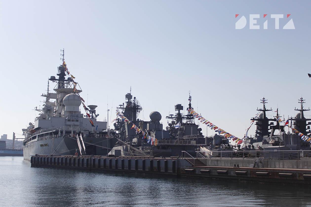 Корабли ТОФ станут участками по голосованию по поправкам в Конституцию
