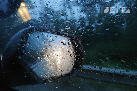 """""""Магический"""" дождь вызвал транспортный коллапс во Владивостоке"""
