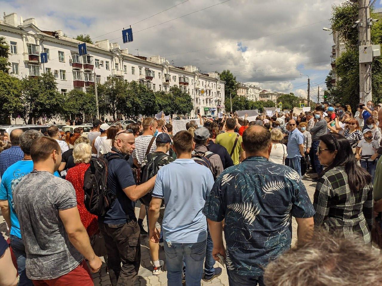 Арест Фургала спровоцировал стихийные акции протеста в Хабаровске