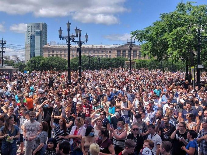 Илья Гращенков: Москва проспала революцию в Хабаровске