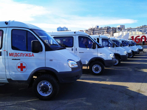 Парк автомобилей медицинских учреждений Приморья существенно пополнился