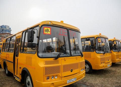 Жители Приморья вспомнили о правилах организованной перевозки группы детей