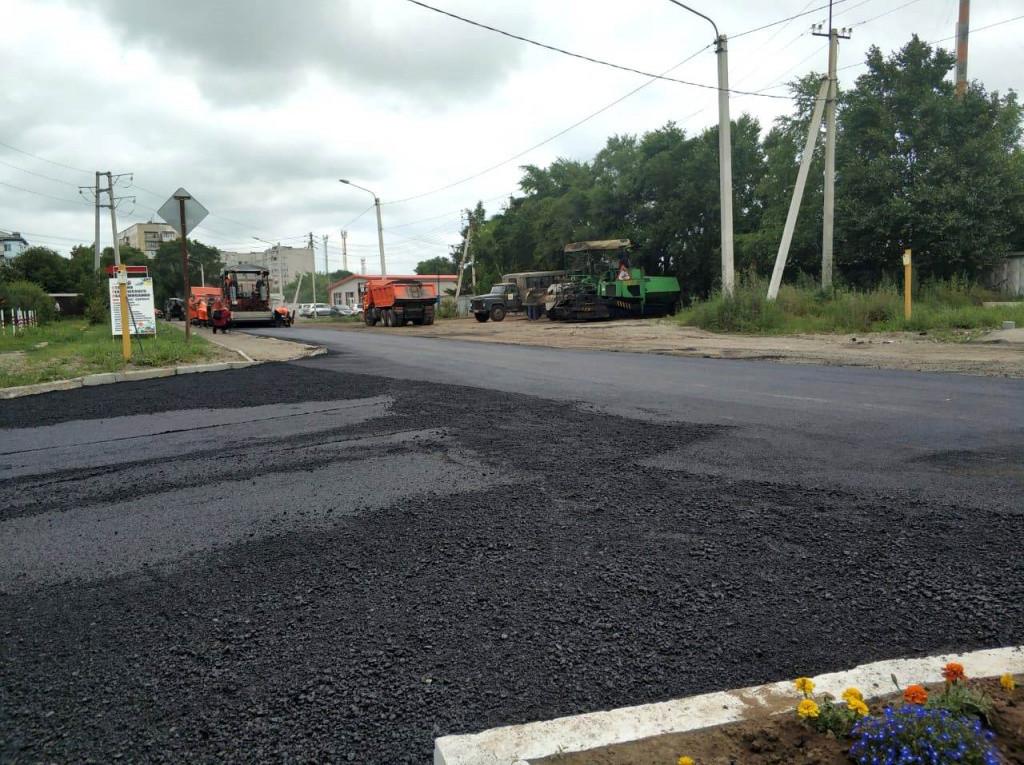 Более 20 дорог заасфальтировали в Уссурийске