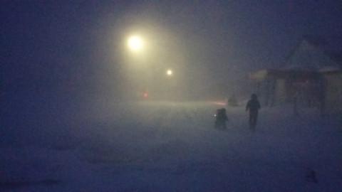 Солнца нет и мороз -50: все школьники Якутска остались дома