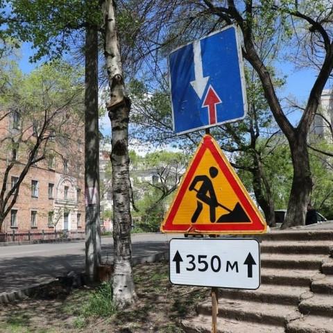 Ремонт улиц идет в Уссурийске