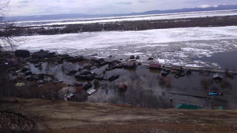 Паводок продолжает поглощать Хабаровский край