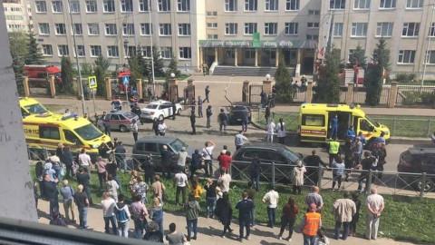 Стало известно о состоянии пострадавших при стрельбе в казанской гимназии