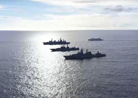 «Эскадра, к бою»: Тихоокеанский флот вывел в море все, что движется
