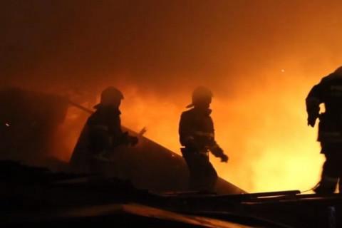 4 кузова сгорели в автомастерской во Владивостоке