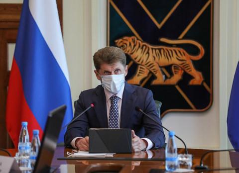 Губернатор Приморья поручилувеличить темпы вакцинации в регионе