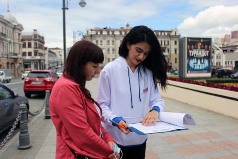 Во Владивостоке провели опрос о качестве голосования за объекты благоустройства на 2022 год