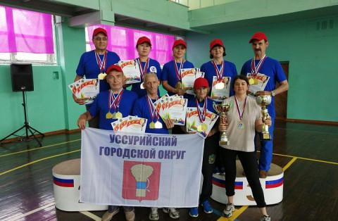 Пенсионеры из Уссурийска победили в краевой спартакиаде