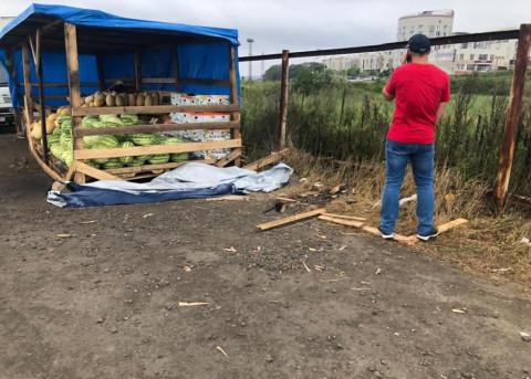 Незаконных уличных торговцев штрафуют во Владивостоке