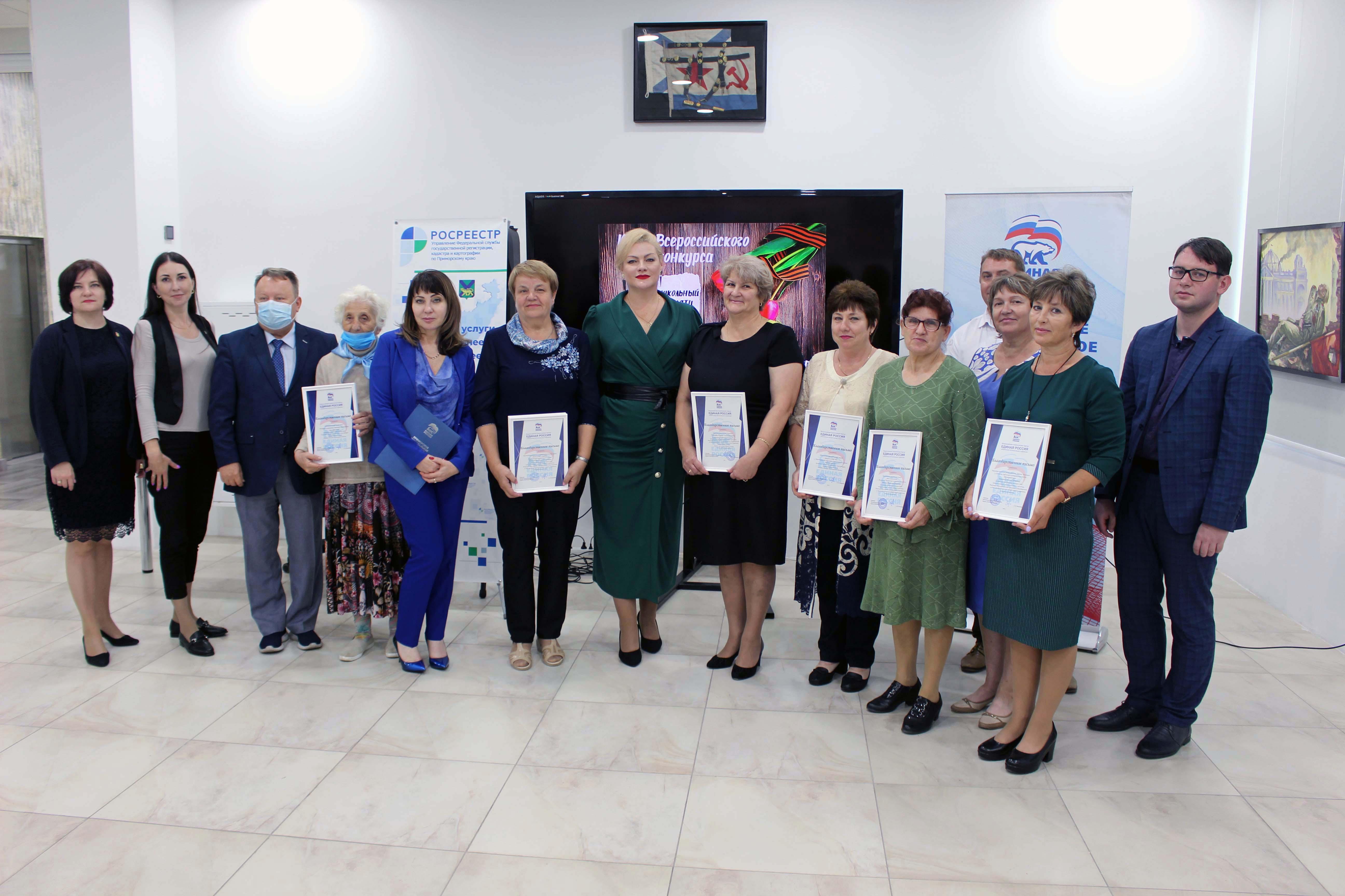 Победителей регионального этапа Всероссийского конкурса на лучший школьный музей наградили во Владивостоке