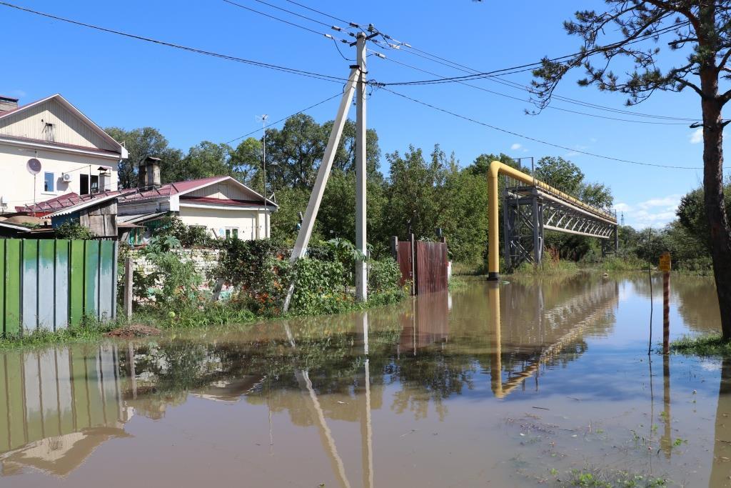 Прием заявлений пострадавших от тайфуна идет в Уссурийске